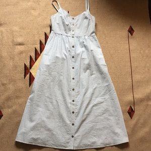 NWOT ModCloth Seersucker Dress size M